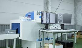 X線検査の機械